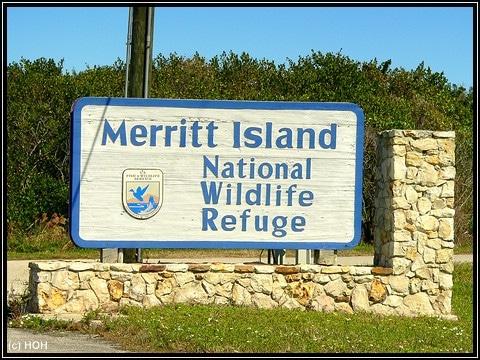 Merritt Island National Wildlife Schild