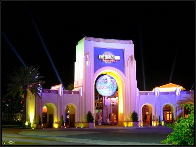 Universal Studios Eingang in Orlando