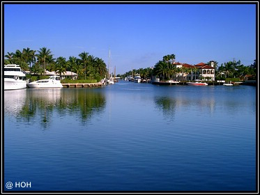 Wasserkanal in Fort Lauderdale