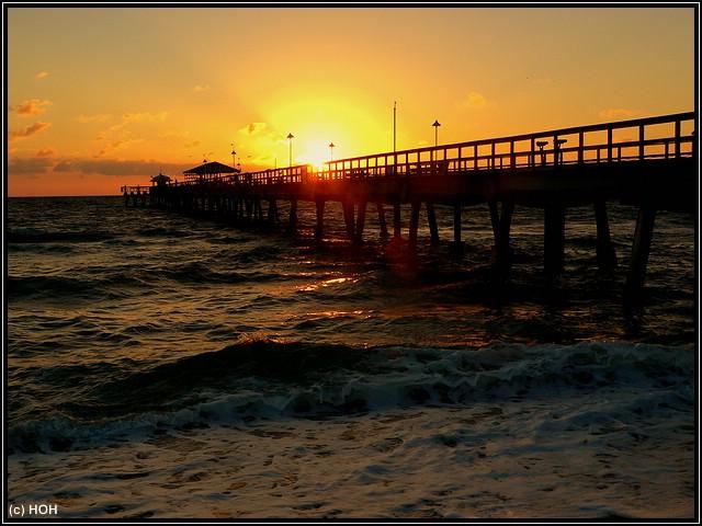 Sonnenaufgang bei Fort Lauderdale