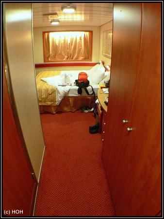 Unser Zimmer auf der Carnival Imagination