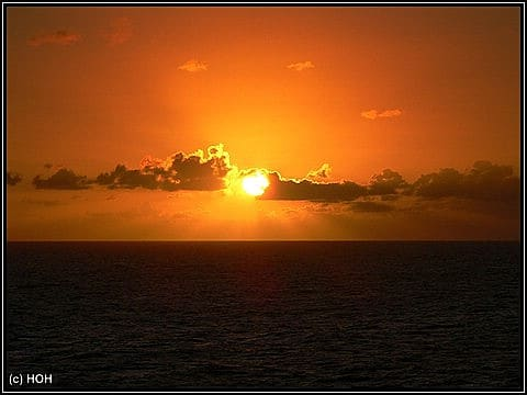 Sonnenaufgang bei Kuba