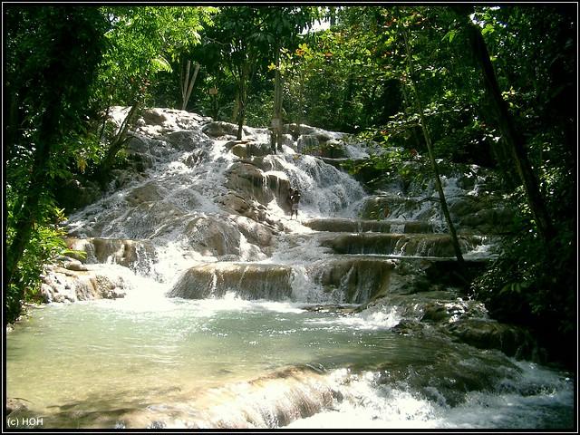 Dunns River Falls in Ocho Rios auf Jamaika