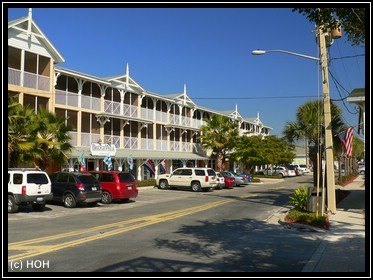 Historische Bridge Street in Bradenton Beach