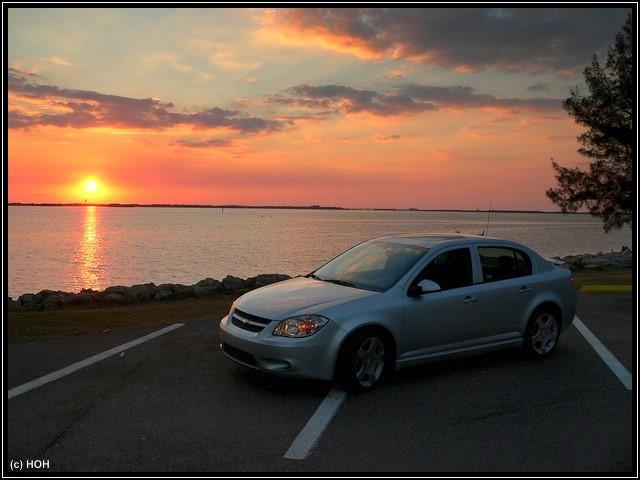 Chevy beim Sunset