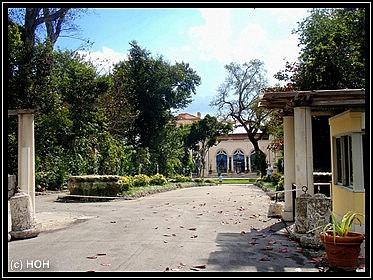 Eingang zum Venetian Pool