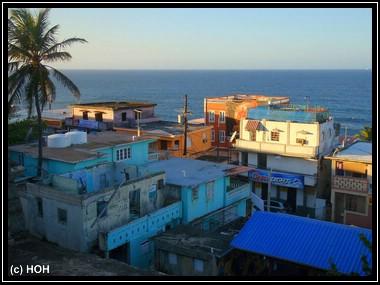 Ärmeres Viertel in Old San Juan