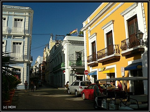 Old San Juan ... auf dem Weg nach El Morro