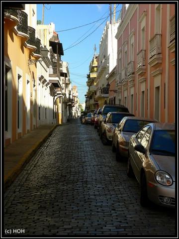 Eine von vielen fotogenen Straßen ...