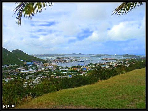 Blick von Cay Bay Hill
