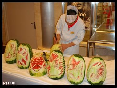 Extrem Melonenschnitzing