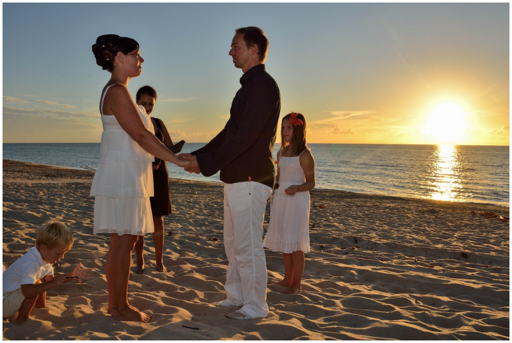 Sunrise Beach Wedding