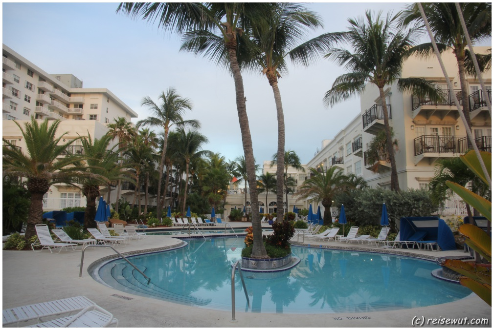 Pool vom Savoy Hotel Miami Beach