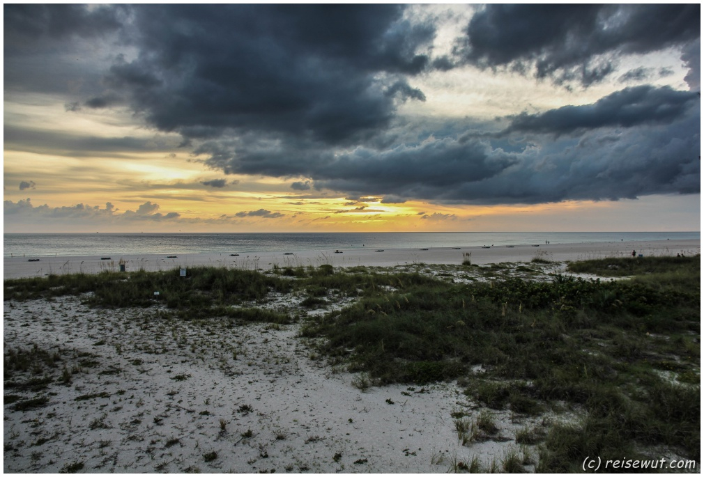 Sonnenuntergang an der Golfküste
