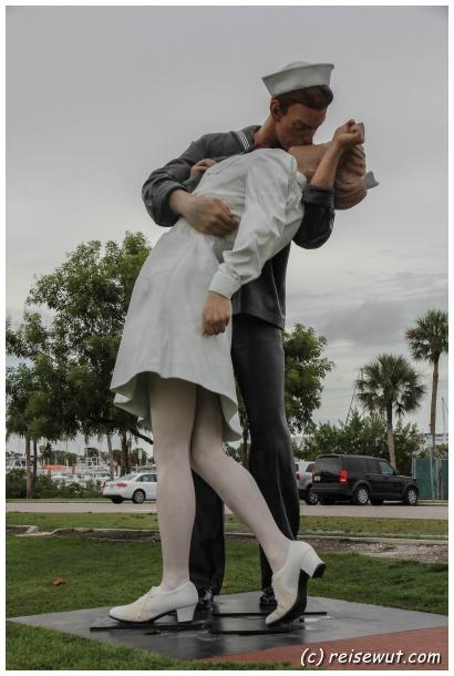 Kissing Soldier vom V-J Day (Sarasota)