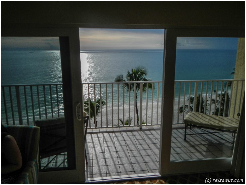 Aussicht vom Balkon in der 11.Etage des LaPlaya Beach & Golf Resort