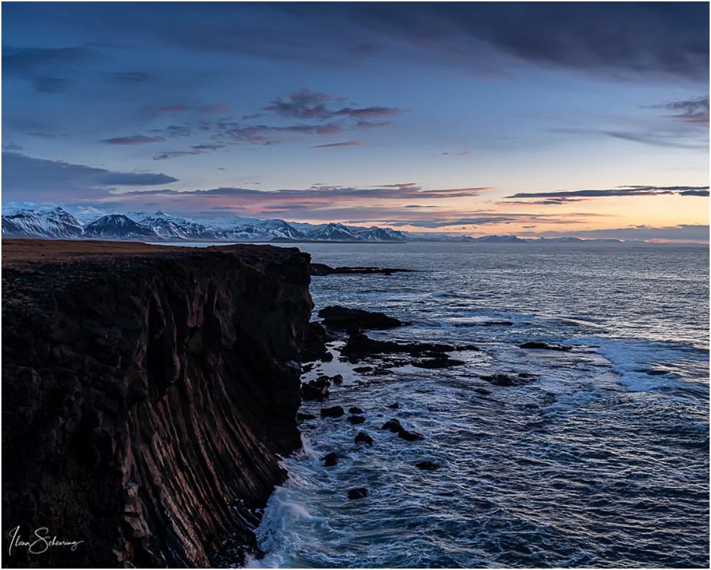 Die Küste bei Arnarstapi