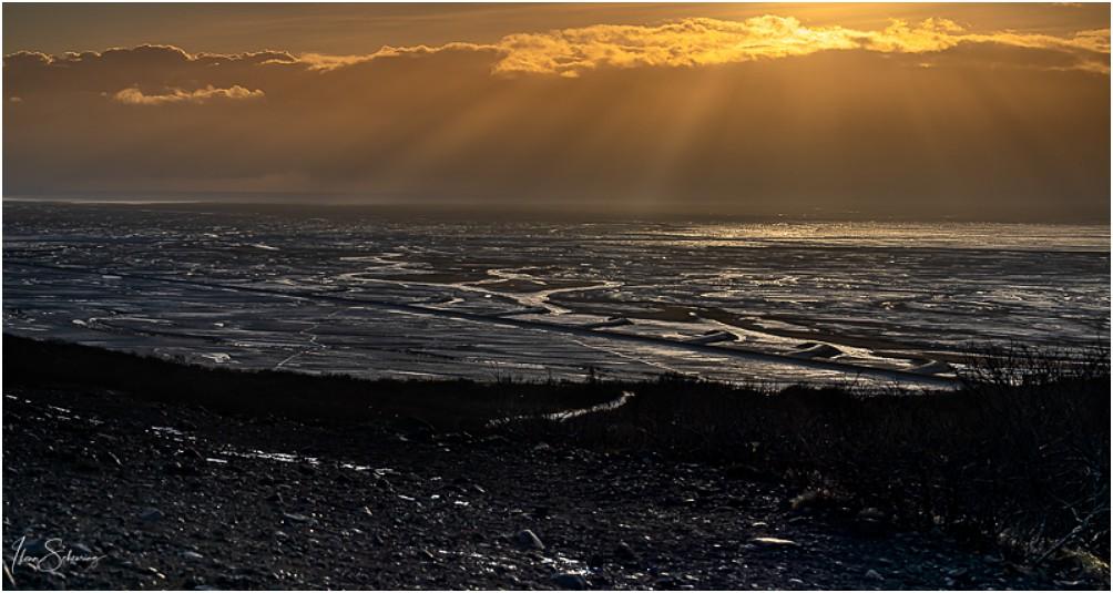 Wieder einmal eine dieser tollen Lichtstimmungen, wie es sie nur auf Island gibt