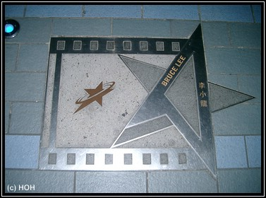 Bruce Lee auf der Avenue of Stars