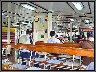 Oberdeck auf der Star Ferry