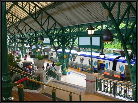 Disneyland Hong Kong MTR-Station