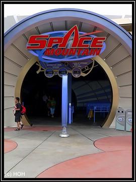 Eingang Space Mountain