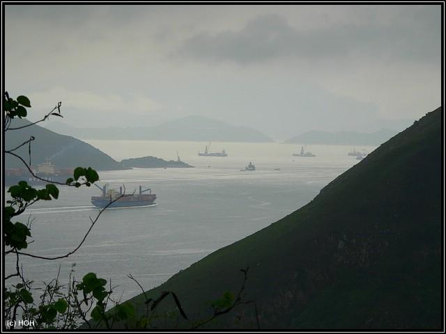Aussicht auf das chinesische Meer