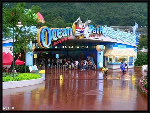 Südeingang vom Ocean Park