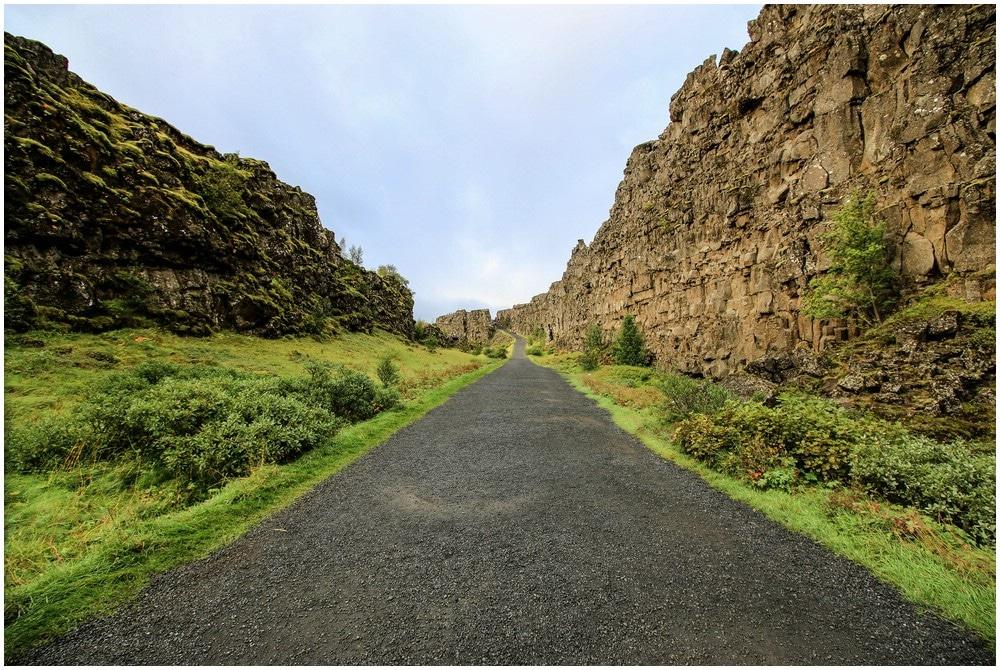Allmännerschlucht im Thingvellir National Park