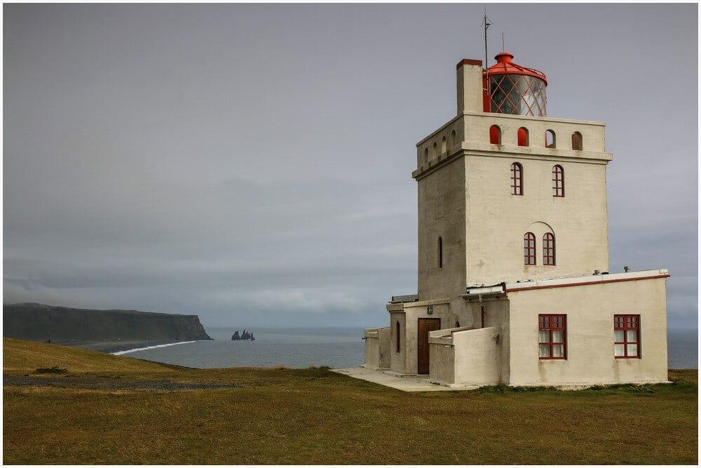 Kap Dyrholaey Leuchtturm