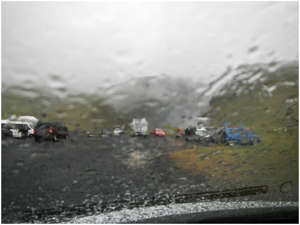 Regen, Regen, nichts als Regen