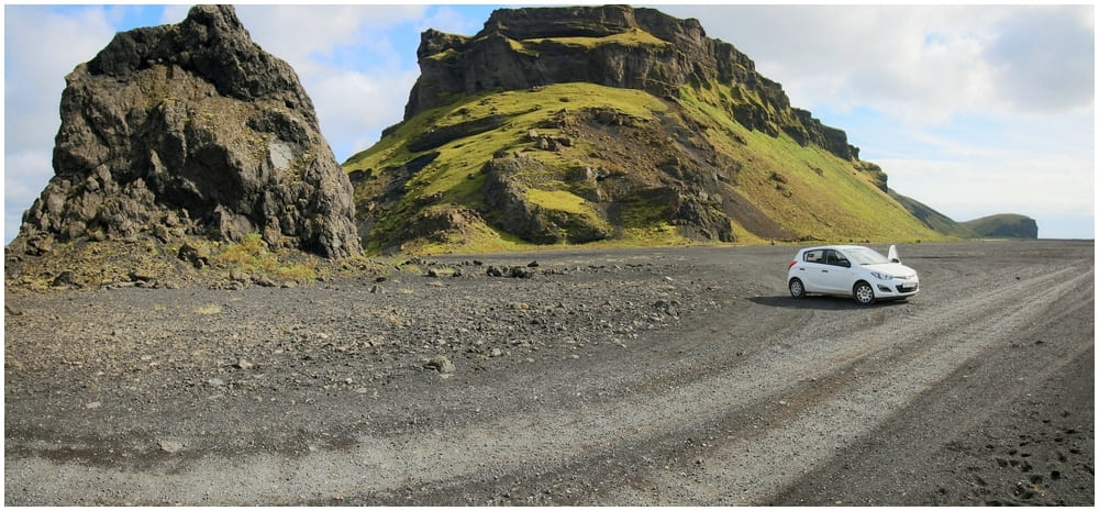 Würde man bei Hjörleifshöfði bis ganz ans Ende fahren kommt man zur inzwischen recht bekannten Yoda Cave