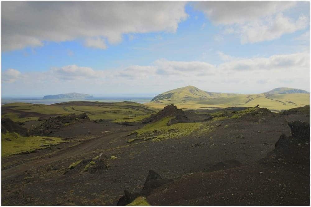 Bereits die Anfahrt nach Þakgil ist traumhaft schön