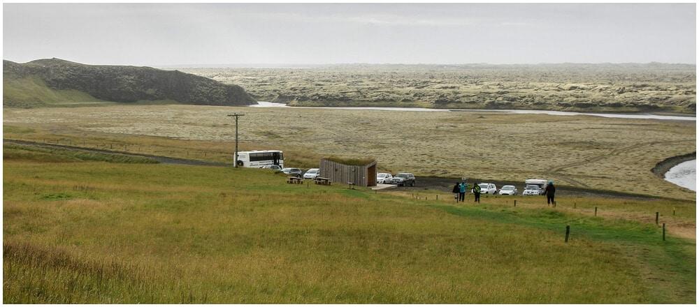 Fjaðrárgljúfur Parkplatz