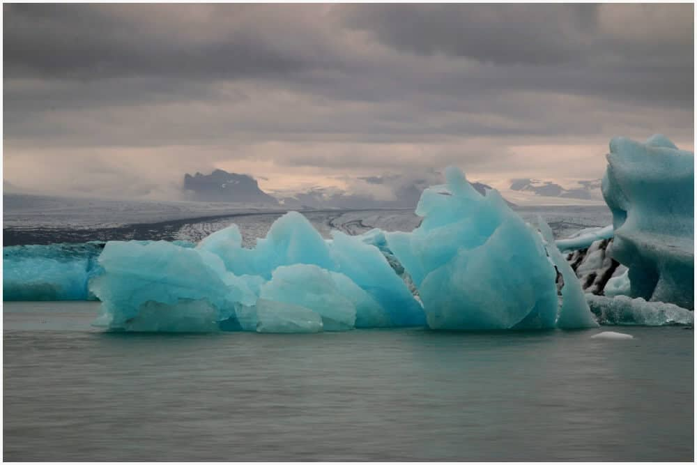 Floating Ice at Jökulsarlon