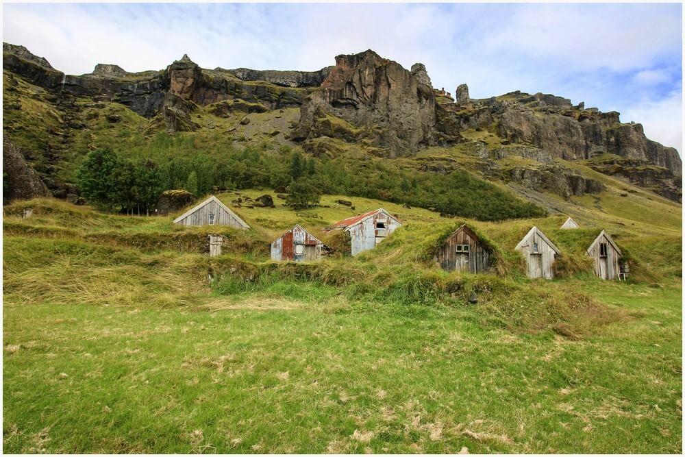 Núpsstaður Turf Farm