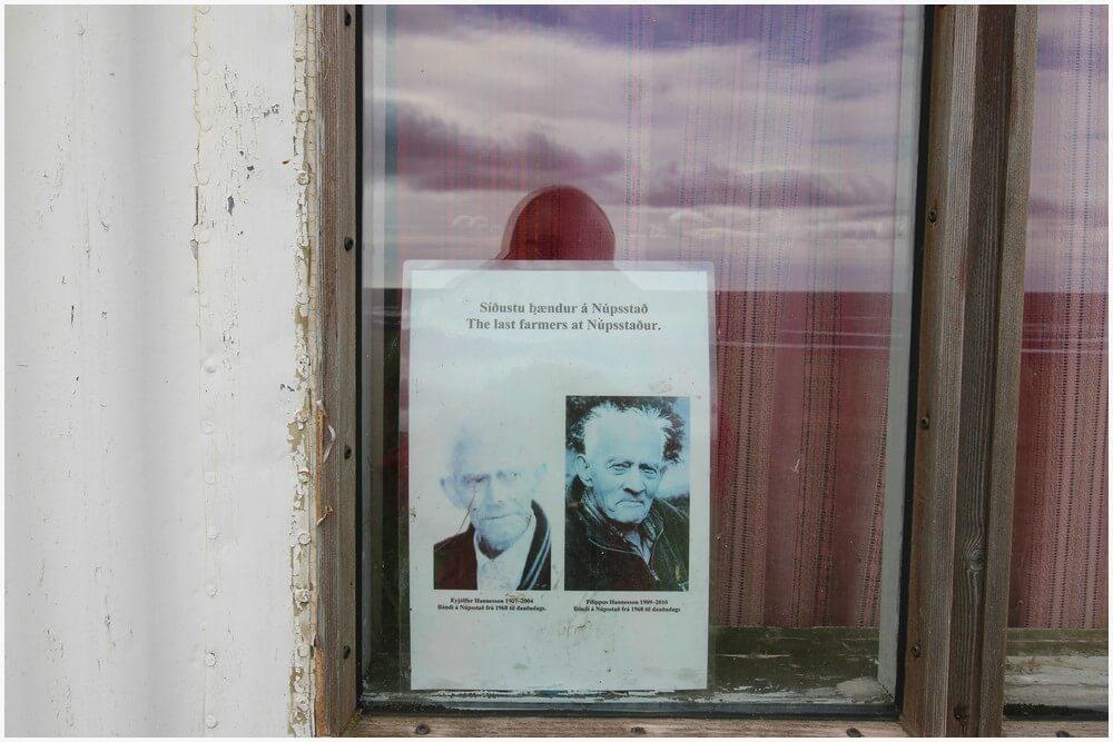 Die beiden ursprünglichen Besitzer Eyjölfur Hannesson und sein Bruder Filippus. Über die Beiden ranken sich viele Geschichten