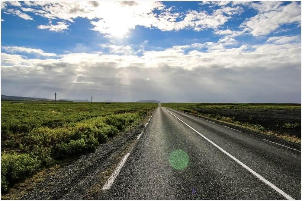 Entlang der Ring Road