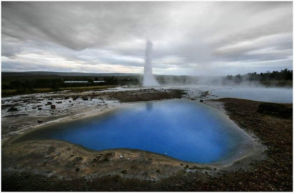 Blue Pool beim Strokkur