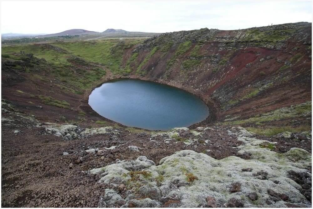 Vulkansee Kerið