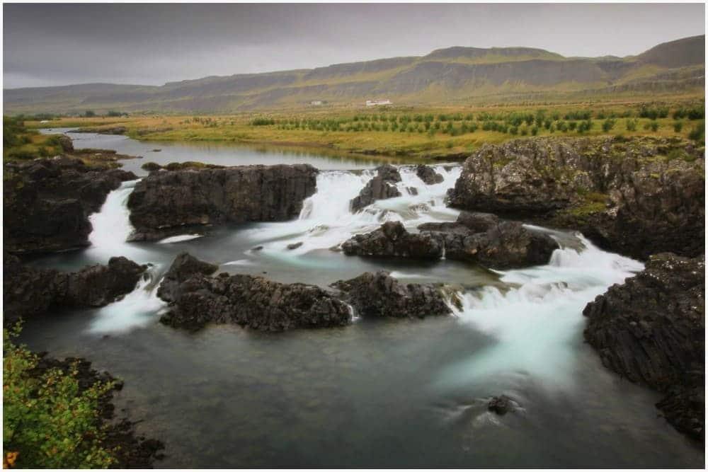 Glanni Waterfall bei Bifröst