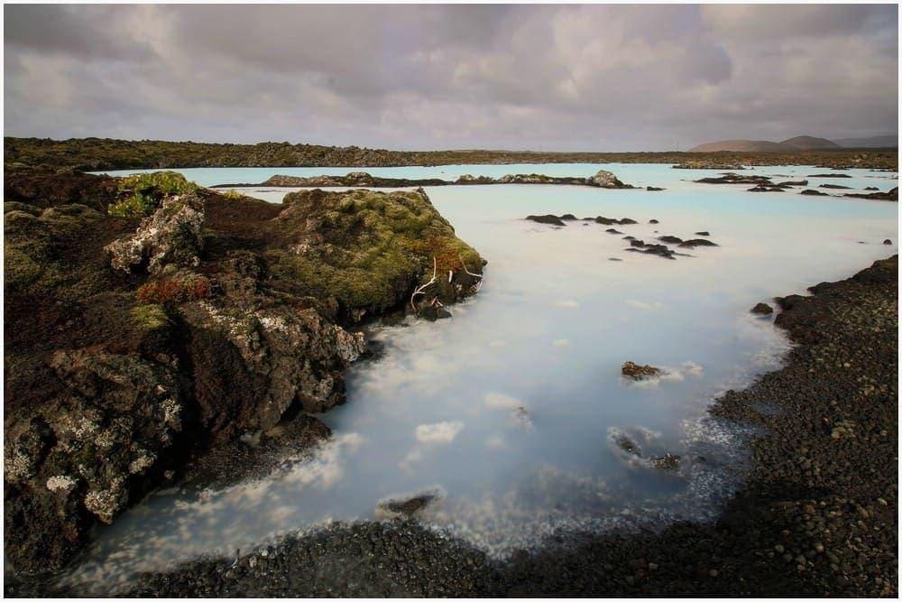 Die Blaue Lagune entlang des Nature Trail, außerhalb des eigentlichen Badebereiches