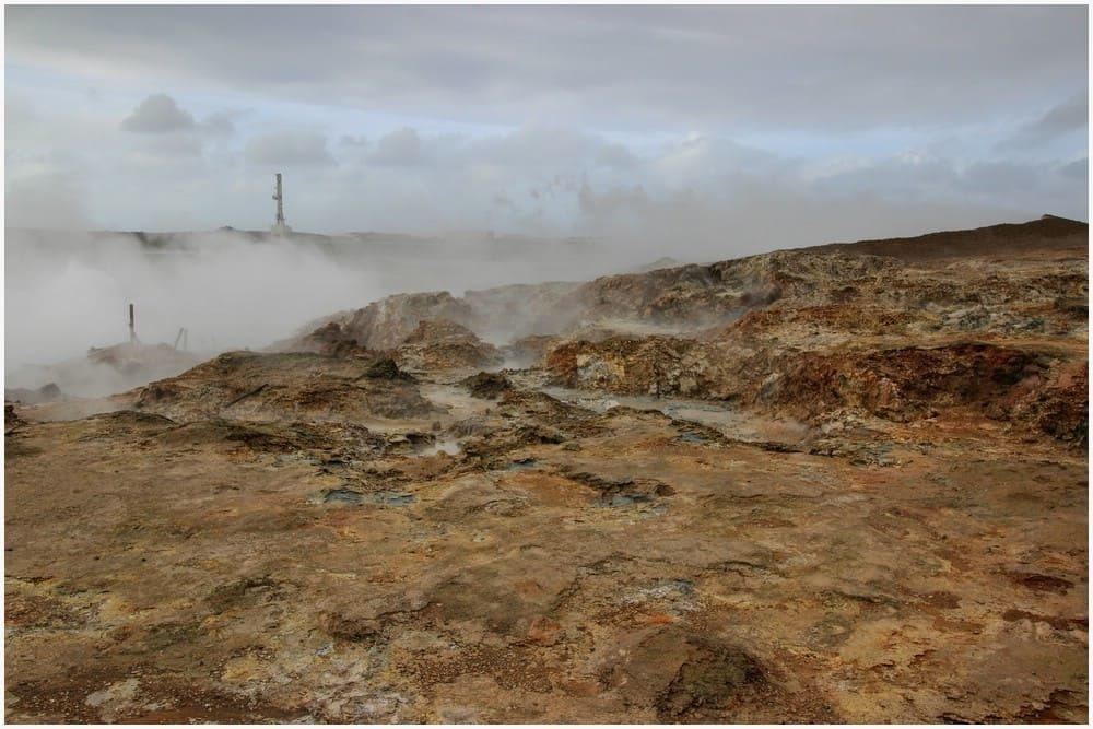 Gunnuhver Geothermal Area