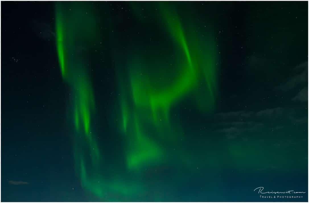 Polarlichter fotografieren .. ohne Bildkomposition ist das eher nichtssagend