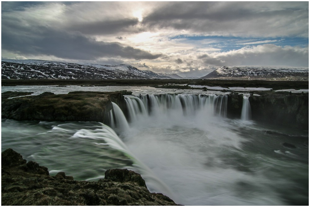 Godafoss, oberer Viewpoint