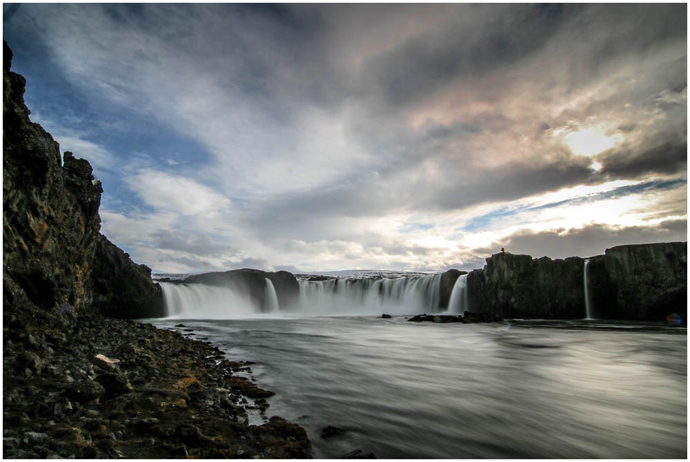 Godafoss, unterer Viewpoint