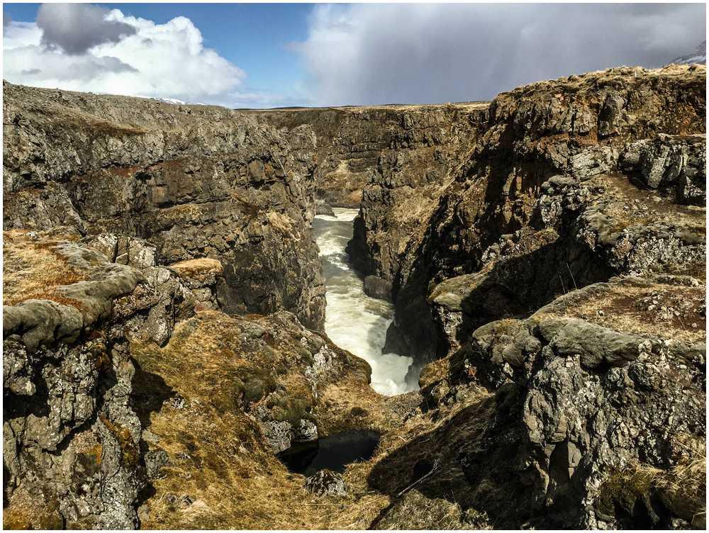 Kolugjufur Canyon