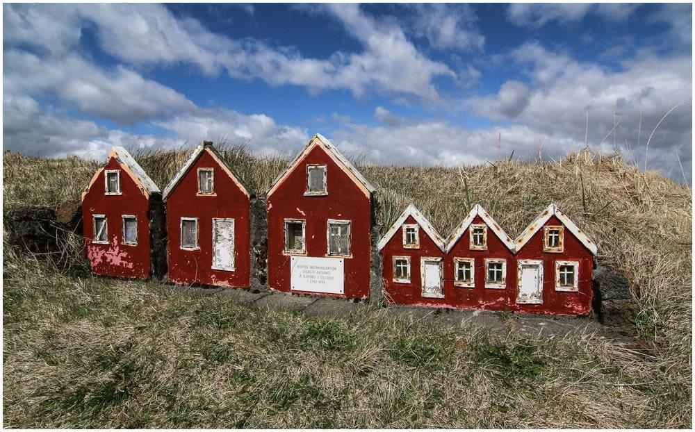 MiniaturTorfhäuser