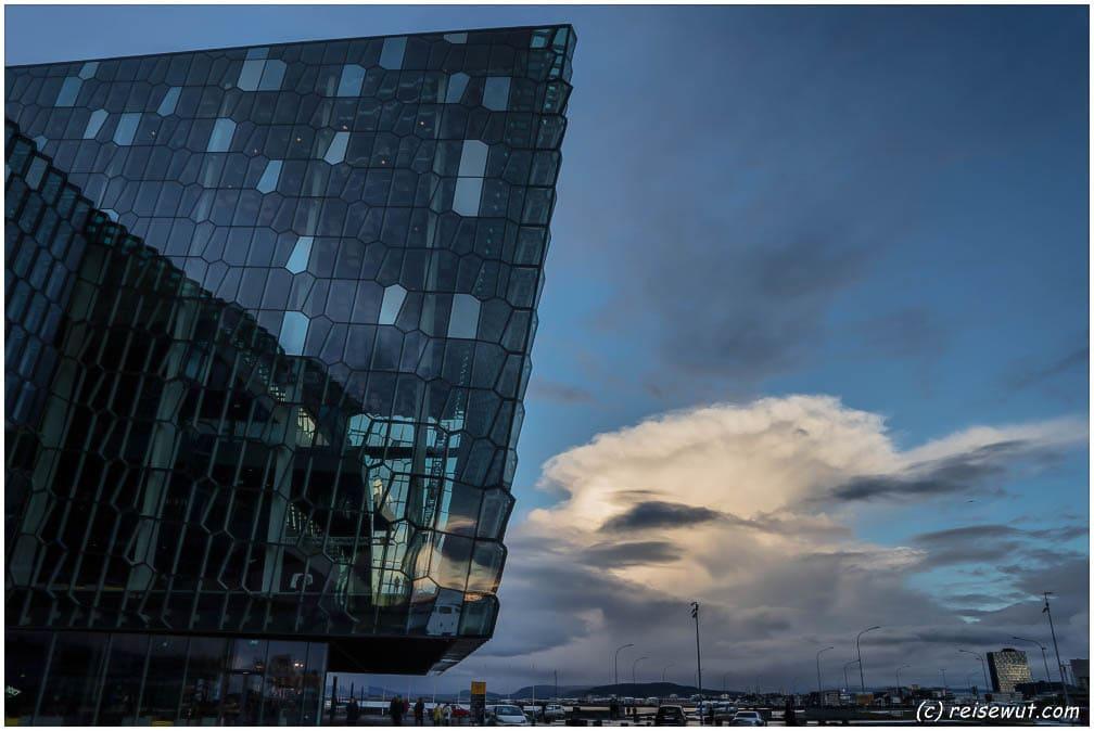 Gullfoss – Reykjavik – Harpa – Rückflug