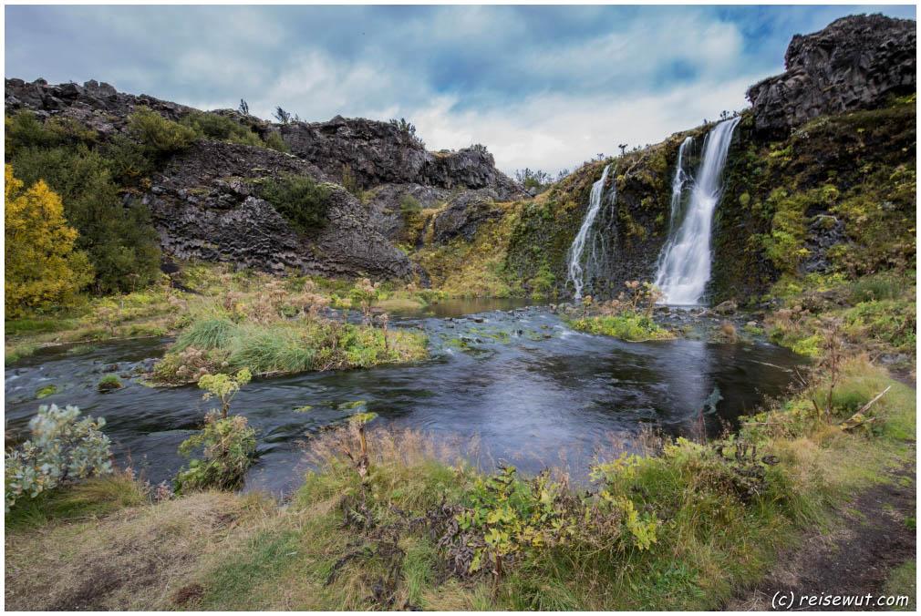 Gjain großer Wasserfall